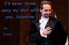 Hamilton Musical Valentine (original)