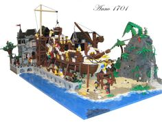 Anno 1701, a dry dock built for competition by mayday artist on 1000steine.de, 7/4/11