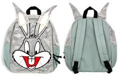 Bugs Bunny Backpack with Ears - cute! Should see this..