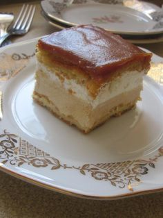 Karamelový krémeš na plechu Tiramisu, Cheesecake, Food And Drink, Zdravo, Ethnic Recipes, Desserts, Sheet Cakes, Bakken, Tailgate Desserts