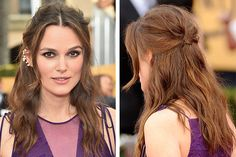 Get the Look: Keira Knightley's Edgy and Romantic Hair and Makeup