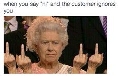 """So they'll know to say """"hi"""" back: 