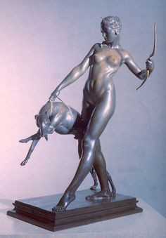 Diana - 1923 bronze by Edward McCartan