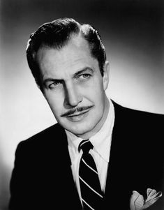 Vincent Price (5/27/11 - 10/25/93)  American actor, well known for his distinctive voice and serio-comic performances in a series of horror films made in the latter part of his career.