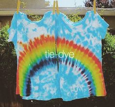 """love this tie-dye take on the """"best friends"""" necklace of yore!"""