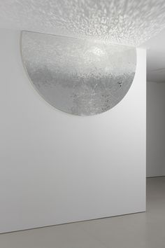 Jim Hodges. Movements (Stage IV), 2009. Mirror on canvas. 96 x 57 in. Photo by Ronald Amstutz. © Jim Hodges