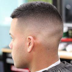 High Razor Fade + Short Hair on Top