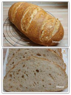 Egyszerű kovászos kenyér – Alaprecept   Betty hobbi konyhája Bakery, Bread, Dishes, Food, Pizza, Kitchen, Home, Cooking, Tablewares
