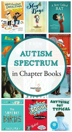 the best chapter books with characters on the Autism Spectrum #kids #childrensbooks #autism