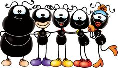 smilinguido - Pesquisa Google New Classroom, Classroom Themes, Mig E Meg, Kids Cards, Animal Paintings, Ants, Coloring Pages, Art Drawings, Mickey Mouse