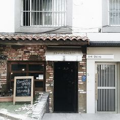 Bread shop in Seoul
