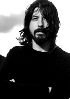 Dave Grohl. Not my normal style, but there's something sexy about this man.
