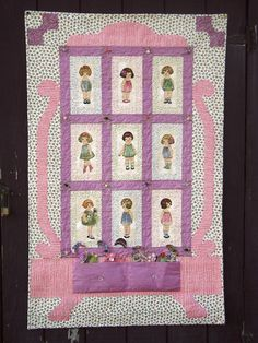 Paper Doll Quilt Paper Doll Quilt Kit Complete