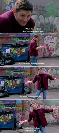 Deanmon scene, i just about died laughing, there was a mark on my knee from slapping it repeatedly so hard