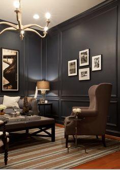 Fajny fotel, stolik kawowy i panele. dobry feeling