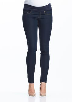 Soon Maternity | Flynn Skinny Maternity Denim basic maternity jeans for your maternity wardrobe
