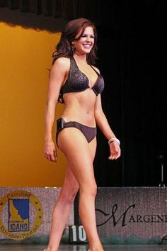 Miss Idaho Shows Off a Gorgeous Picture of ... Her Insulin Pump.  Not something to be ashamed of, she struts her stuff in a bikini!  More power to you, Girl!