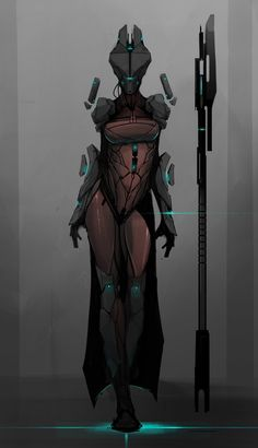 ArtStation - The Witch, Shane Walters. Cyborg robot witch thing quite an interesting design,