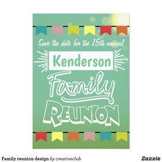 Family reunion design #familyreunion #reunion