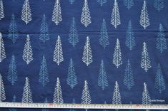 Leaf design Indigo fabric Indigo mudcloth Block print fabric by the yard by VedahDesigns on Etsy Kalamkari Designs, Curtains And Draperies, Pattern Sketch, Embroidery Motifs, Fabulous Fabrics, Wooden Blocks, Leaf Design, Happy Shopping, Home Furnishings