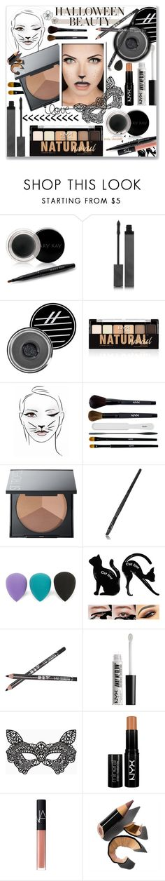 """""""Behind the Mask - Halloween Makeup: 31/10/17"""" by pinky-chocolatte ❤ liked on Polyvore featuring beauty, Mary Kay, Burberry, Ardency Inn, NYX, Sephora Collection, Lord & Taylor, BCBGMAXAZRIA, NARS Cosmetics and Bobbi Brown Cosmetics"""