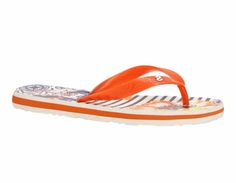 "Desigual Flip Flops Sandals ""Flip Flop Beautiful flip flops for the beach in navy Stripes in original Desigual colourful print. Navy Stripes, Flip Flop Sandals, Flipping, Shoes, Products, Fashion, Moda, Shoe"