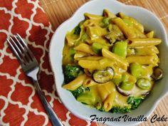 Creamy Vegan Pumpkin And Leek Penne Pasta Recipe