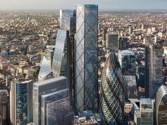 When completed, 1 Undershaft will be the tallest building in the City of London.