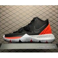 detailed look 1d021 8a294 Men s Nike Kyrie 5 Black Red-Grey AO2919-600 New Year Deals
