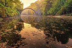 Rakotzbrücke - Azaleen- und Rhododendronpark Kromlau