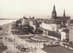 Riga way back when...