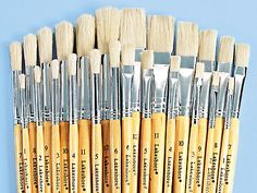 Economy Paintbrush Assortment - Set of 24 at Lakeshore Learning