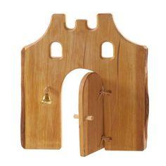 Castle Gate with Door (Kinderkram) - The Wooden Wagon