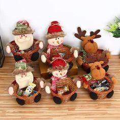 me ~ Christmas Candy Basket Family Christmas Gifts, What Is Christmas, Christmas Jars, Personalized Christmas Ornaments, Christmas Candy, Xmas Gifts, Christmas Presents, Christmas Tree Decorations, Merry Christmas