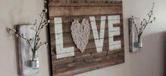 Artesanato com pedaços de madeira – 18 ideias criativas