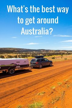 What the best way to road trip around Australia? Is a caravan or camper trailer better? Our guide on how to travel around Australia will help Rv Travel, Travel Goals, Solo Travel, Adventure Travel, Travel Destinations, Travel Tips, Coast Australia, Visit Australia, Western Australia