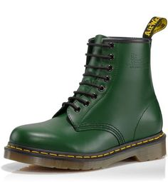 The green Doc Martens are also pretty sweeeeet. $115 #shoes