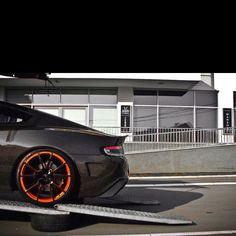 Carbon fiber Aston Martin....