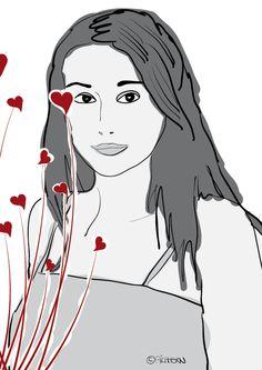 Portrait meiner Schwester.
