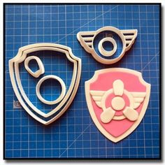 Paw Patrol, Badge, Cookie Cutters, Kit, Logo, Disney, Party, Sugar Paste, Recipes