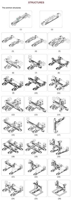 Mechanical joints with names awesome mechanics tools pinterest httphexawheel machine toolscnc machinemachine partsdiy cnccnc plasmacnc routermechanical engineeringcnc projectselectronics solutioingenieria Images