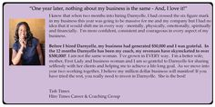 Tish Times grew her business from $50,000 to $300,000 in one year as an Elite level client.