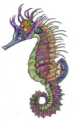 images of seahorses and seahorse art - Google Search