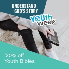 We're stronger together with God. Get to know Him more and understand His Story by reading His word. Find some quiet time each day, and start with a prayer and read His word even if it's only 5 minutes and see where He takes you. Get *20% Off Youth Bibles this Youth Week. Shop online or in-store. *T&Cs apply. . . #youthweek #youthweek2021 #hekahatahitatou #wearestrongertogether #youth #kiwikids #youthempowerment #spiritualgrowth #ReadHisWord #mannachristianstores #mannanz #biblesocietynz Westfield Mall, Great North, 20 Off, Spiritual Growth, Prayer, Youth, Bible, How To Apply, God