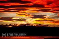 Striking Sunset Pandora Napier New Zealand by BarbaraDunnPhotos, $10.00
