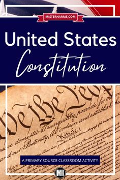 This is a great way to study and know the information contained within the United States Constitution. To better understand the layout and information within the United States Constitution, students will read through the original 7 Articles of this primary source document and find the main ideas. This is a nice addition to Constitution Day or your existing unit on the Constitution. #ConstitutionDayActivities #MiddleSchool