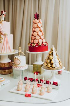 The Nutcracker is a holiday must and as a theme for a big 2nd birthday bash? Um, even better.Megan Wappel Designstook the essence of this famous ballet and transformed it into a dream of a party forSophie and Simona. From ice