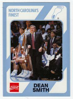 Dean Smith # 6 - 1989-90 North Carolina Collegiate Basketball