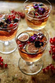 Muscato Fruit Cocktail