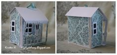 My Craft and Garden Tales: Pop up house card - tutorial with template